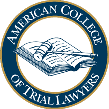 American College of Trial Lawyers badge